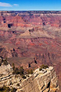 Grand Canyon South Rim looking to the North Rim Arizona
