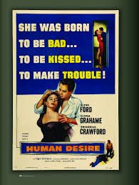 #HumanDesire #FritzLang #CineClásico Itsn't love, it's human desire....and all of us have sensed sometimes #GlennFord #GloriaGraham