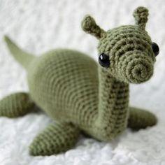 Jessica published her Loch Ness crochet pattern for free on Ravelry! Toys Patterns amigurumi ravelry Nessie pattern by 26 Donuts Cute Crochet, Crochet Crafts, Crochet Dolls, Yarn Crafts, Beautiful Crochet, Crotchet, Amigurumi Patterns, Amigurumi Doll, Knitting Patterns