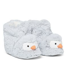 Novelty Penguin Fur Slipper Boots