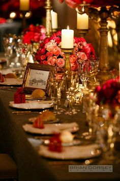 wedding centerpiece idea; photo: Brian Dorsey Studios