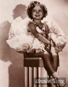 Shirley Temple--ancient faces's