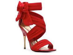 "Be the ultimate ""Lady in red"" with these Paris Hilton Shoe <3 That's hot!"
