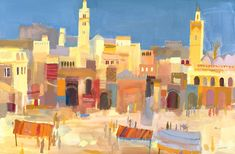 Richard Tuff, Morocco collection, jemaa_el_fna.jpg 700×458 pixels