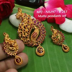 Temple jewellery available at AnkhJewels for booking msg on +91 9619291911....