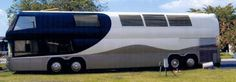 luxury RV buses - Google Search