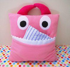Pajama Eating Monster Pillow