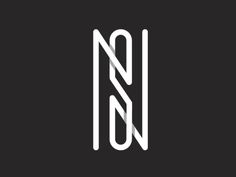 NS Logo designed by Dalajlampa. Connect with them on Dribbble; Typo Logo Design, Best Logo Design, Lettering Design, Branding Design, Design Letters, Text Design, Typography Letters, Typography Logo, Logo Branding