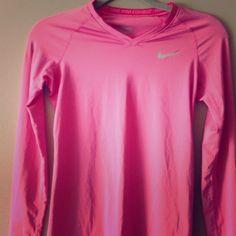 "Selling this ""XS Nike Pro Combat fitted DriFit top"" in my Poshmark closet! My username is: tinovia. #shopmycloset #poshmark #fashion #shopping #style #forsale #Nike #Tops"