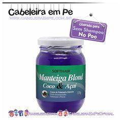 Manteiga Matizadora Blond Coco & Açaí - Soft Hair (Liberada para No Poo)