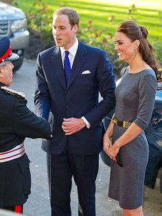 OK, he is a sharp dresser - but she just can't miss!