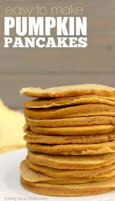 Pumpkin Pancakes. Th