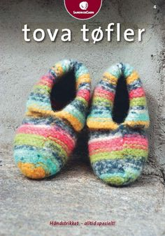 Klikk for å forstørre - Hello Yoga Socks, Projects To Try, Arts And Crafts, Slippers, Knitting, Crochet, Handmade, Felting, Pdf