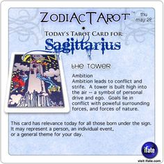 Zodiac Tarot for May 28: Sagittarius <br>  http://ifate.com