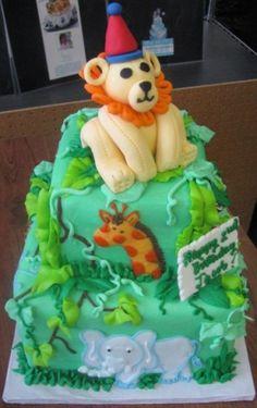 Lion Birthday Cake Design Pin Friendly Lion Cake Pan Review - Lion birthday cake design