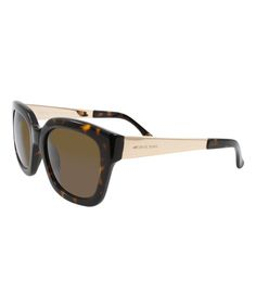adcbcdb5920 Look what I found on  zulily! Tortoise Leah Sunglasses by Michael Kors   zulilyfinds
