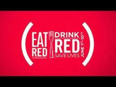 EAT (RED). DRINK (RED). SAVE LIVES. June 1-10, 2014. - YouTube