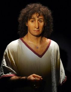 """A reconstruction based on the body of an ancient Carthaginian man from Tunisia. According to a funerary inscription, his name was Arish, """"The beloved one."""""""