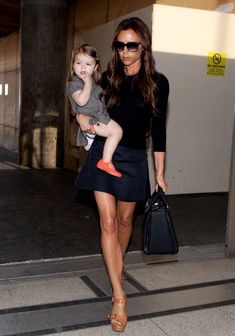 Victoria's Finest Off-Duty Outfits - Celeb Street Style: Victoria Beckham- StyleBistro