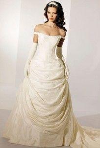 Victorian wedding dress!