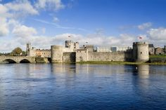 King John's Castle on the River Shannon in Limerick.