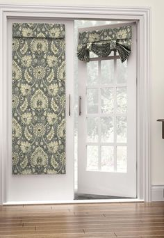 Navigate to the initial site around french doors modern Door Panel Curtains, Patio Door Curtains, French Door Curtains, French Doors Patio, Patio Doors, Tie Up Curtains, Curtain For Door Window, Entry Doors, French Doors With Screens