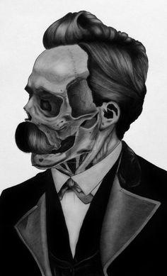 Rick Roderick lectures on Nietzsche, Duke University Friedrich Nietzsche, Mad Movies, Photo Class, Duke University, Writers And Poets, Creepy Art, Postmodernism, First Tattoo, Tattoo Ideas