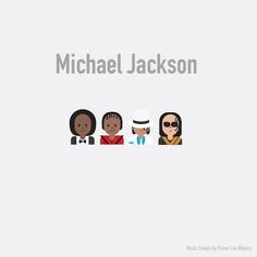 Los #emojis ahora se convierten en #rockstars #MichaelJackson