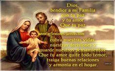 oracion de sanidad por la familia