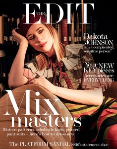 DAKOTA JOHNSON MAKES A SPLASH IN ANOTHER MAGAZINE COVER FEATURE