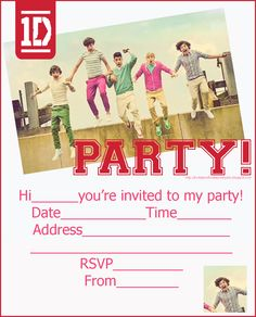 coloring pages of one direction | one direction party invitation free printable slumber jpg