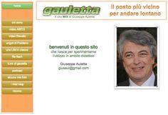 tecnologica...mente...web: Il sito WIX di Giuseppe Auletta