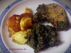 Kaßler mit Grünkohl und Bratkartoffeln #rezept #recipe #food #cooking #kochen