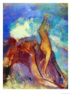 La naissance de Vénus Odilon REDON