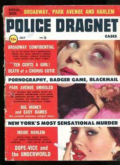 Police Dragnet, July 1956.