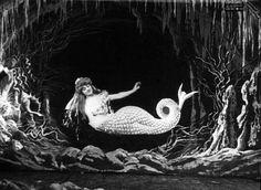 Georges Melies mermaid