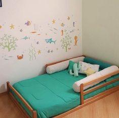 cama simples unissex Shared Rooms, Girls Bedroom, Bedroom Ideas, Boy Room, Toddler Bed, Baby, Ronaldo, Kids Rooms, Furniture