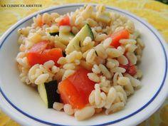 La cuisine en amateur de Maryline: Papillotes d' Ebly aux tomates et courgettes