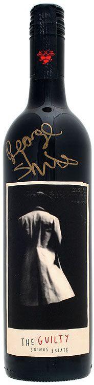 Wine Labels - George Shinas Estate - The Guilty #cCreams #cBlack