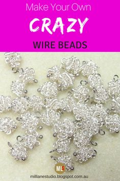 Great Balls of Wire! | Beads tutorial, Tutorials and Beads