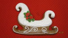 Gingerbread sleigh | Cookie Connection
