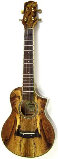 ibanez spalted mango ukulele UoD 26/11