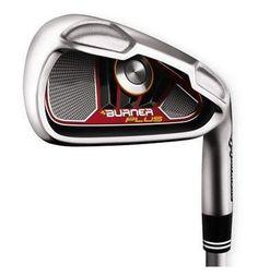 NEW TaylorMade Golf Burner Plus Irons 4-SW RH Steel Regular