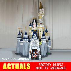 new style 578e9 4bfd3 US  129.0  Aliexpress.com   Buy LEPIN 16008 Creator Series Cinderella  Princess Castle City Compatible 71040 Model Set Building Block Children  Architecture ...