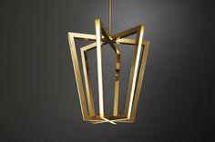 #Lampara colgante #LED Axterix diseñada por #ChristopherBoots