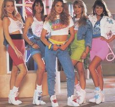 80s fashion and style