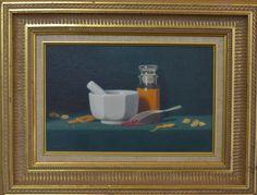 W. Charles Nowell - Still Life - oil on board (American, 1966-)  nowellfineart.com