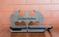 Batman personalized docking station - Christmas gift idea for him