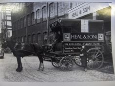 Heal's Horse and Cart Delivery