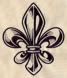 Embroidery Designs at Urban Threads - Engraved Fleur